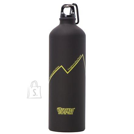 Frendo FRENDO Water Bottle Rainbow 1000 ml, Black