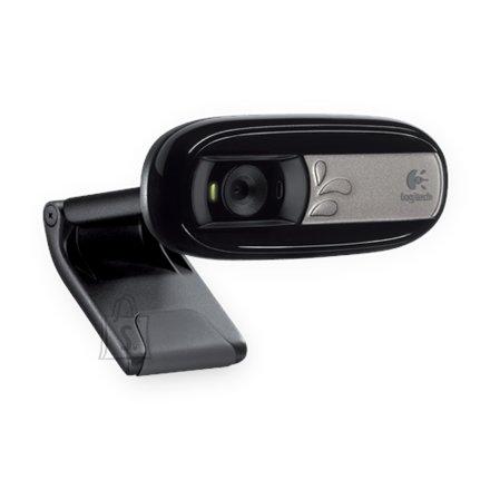 Logitech Logitech Webcam C170 640 x 480 pixels, Black, 1024 x 768 pixels, 5 MP, USB 2.0