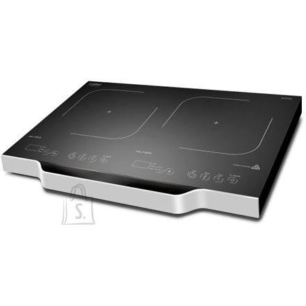 Caso Caso Free standing table hob Wave 3500 Domino  Number of burners/cooking zones 2, Sensor Touch, Black, Induction