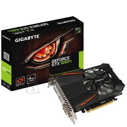 Gigabyte nVidia GeForce GTX 1050Ti D5 4G GDDR5 4GB videokaart