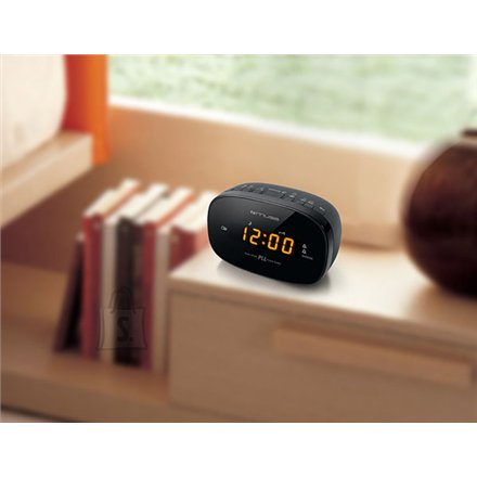 Muse Muse Clock radio PLL M-150CR Black, Alarm function