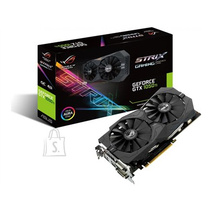 Asus GeForce GTX 1050Ti GDDR5 videokaart