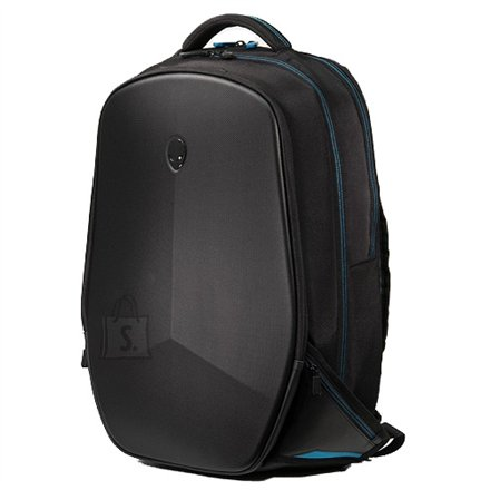 """Dell Dell Alienware 460-BCBT Fits up to size 17 """", Black/Blue, Shoulder strap, Backpack"""