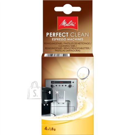 Melitta Melitta 4 pcs., Cleaning tablets,  for Coffee Mashines
