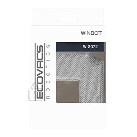 Ecovacs Ecovacs Cleaning Pad   W-S072  for Winbot 850/880, 2 pc(s), Grey