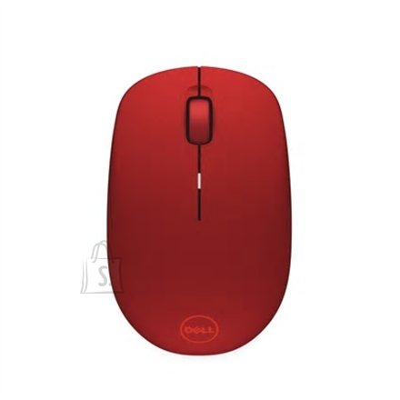 Dell Dell WM126 wireless, Red, Optical mouse