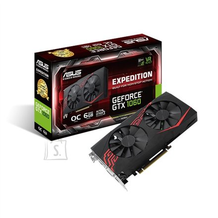 Asus Expedition nVidia GeForce GTX 1060 GDDR5 6GB videokaart