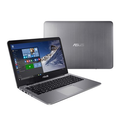 "Asus VivoBook R416NA Grey Metal 14"" sülearvuti"