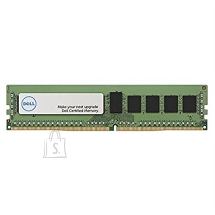 Dell Dell 4GB Certified Memory Module -1Rx8 DDR4 RDIMM 2400MHz Dell 4 GB, DDR4, 288-pin DIMM, 2400 MHz, Memory voltage 1.2 V, ECC Yes, Registered Yes