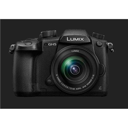 "Panasonic Panasonic LUMIX DC-GH5MEG-K DSLM Camera Kit, Megapixel 20.3 MP, Digital zoom 2x, 4 x, Image stabilizer, ISO 25600, Display diagonal 3.2 "", Wi-Fi, Video recording, Contrast AF system, Live MOS, Black"