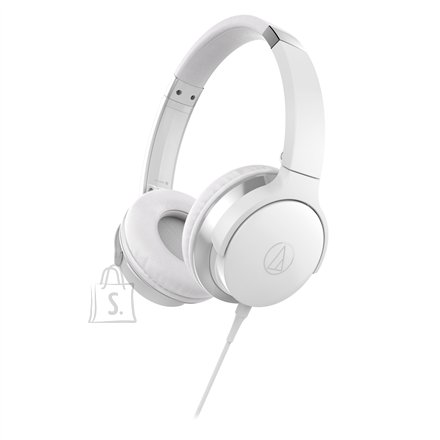 Audio Technica ATH-AR3ISWH On-Ear, Microphone, White