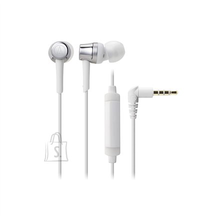 Audio Technica ATH-CKR30ISSV In-ear, Microphone, Silver