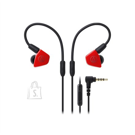 Audio Technica ATH-LS50ISRD In-ear, Microphone, Red