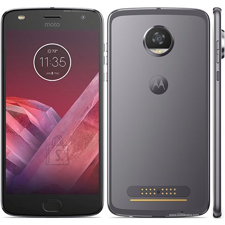 "Motorola Motorola Moto Z2 Play XT1710-09 Grey, 5.5 "", Super AMOLED, 1080 x 1920 pixels, Qualcomm Snapdragon, 626, Internal RAM 4 GB, 64 GB, microSD, Dual SIM, Nano-SIM, 3G, 4G, Main camera 12 MP, Second camera 5 MP, Android, 7.1.1, 3000 mAh, Warranty 24 month(s)"