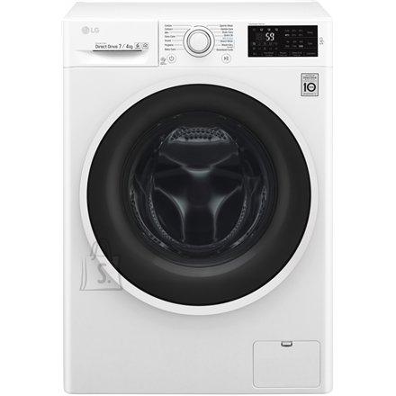 LG eestlaetav kuivatiga pesumasin 1200 p/min