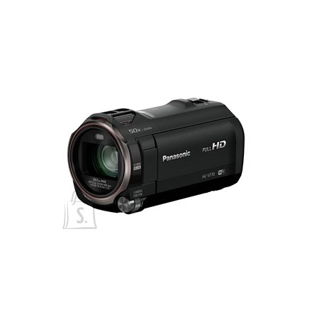 "Panasonic Panasonic HC-V770EP-K 1920 x 1080 pixels, Digital zoom 1500 x, Black, Wi-Fi, LCD, Image stabilizer, Optical zoom 20 x, 7.62 "", HDMI"