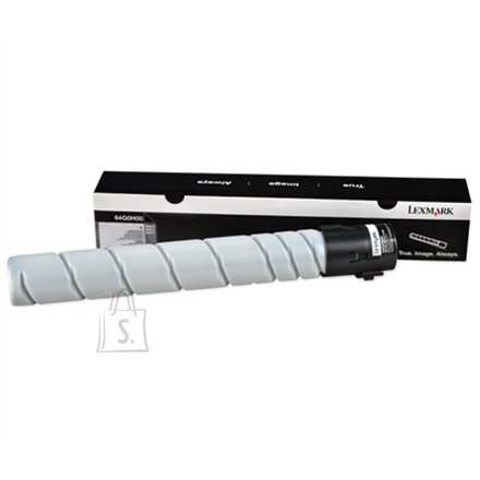 Lexmark Lexmark 64G0H00 Cartridge, Black, 32500 pages