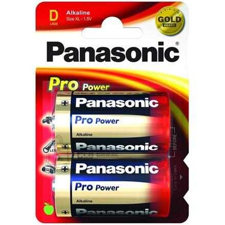 Panasonic Panasonic 1x2 LR20PPG D/LR20, Alkaline, 2 pc(s)