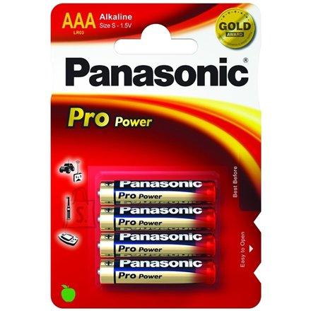 Panasonic Panasonic 1x4 LR03PPG Alkaline, 4 pc(s)