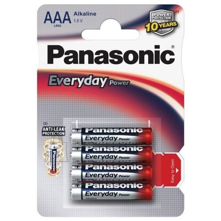 Panasonic Panasonic Everyday Power Alkaline, 4 pc(s)