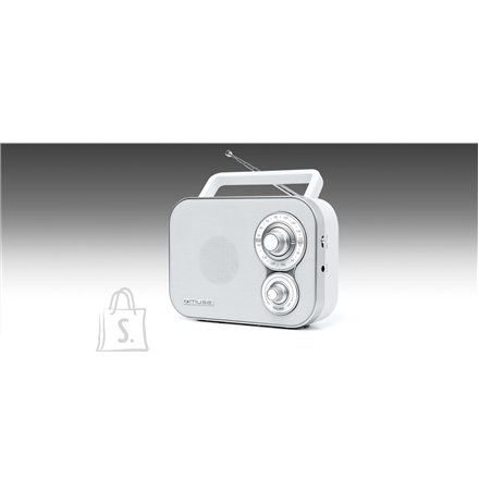 Muse Muse Portable Radio M-051RW White, AUX in
