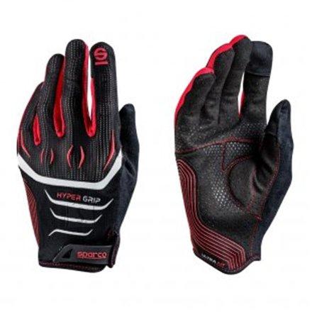 Sparco Gaming glove, Hypergrip, Black/Red, 10