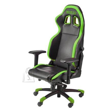 Sparco Gaming chair, Grip, Black/Green