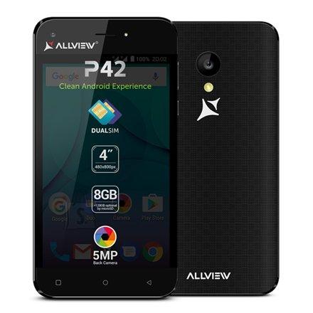 "Allview P42 4.0"" nutitelefon  8GB  5MP  Dual SIM"