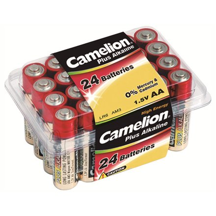 Camelion Plus Alkaline LR6-PB24 AA patareid