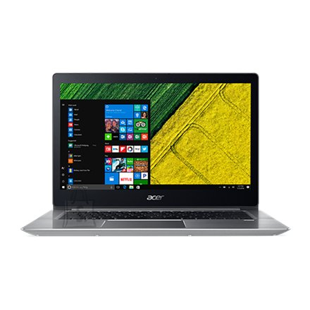 "Acer Acer Swift 3 SF315-51 Silver, 15.6 "", Full HD, 1920 x 1080 pixels, Intel Core i5, i5-7200U, 8 GB, DDR4, SSD 256 GB, Intel HD, No Optical drive, Windows 10 Home, 802.11ac, Bluetooth version 4.0, Keyboard language Nordic, Keyboard backlit, Warranty 24 month(s), Battery warranty 12 month(s)"