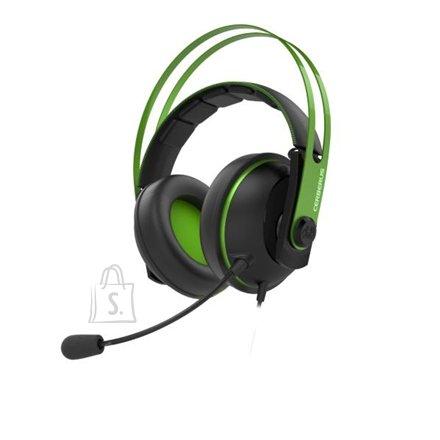 "Asus Asus CERBERUS V2  90YH016B-B1UA00 3.5 mm(1/8"") connector Audio/mic combo, Green, Built-in microphone"
