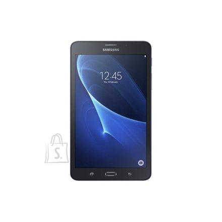 "Samsung Samsung Galaxy Tab A (2016) 7.0 "", Black, Capacitive, IPS LCD, 1280 x 800 pixels, Qualcomm MSM8916 Snapdragon 410, Cortex-A53, 1.5 GB, 8 GB, Bluetooth, 4.0, 802.11 b/g/n, 4G, Front camera, 2 MP, Rear camera, 5 MP, Android, 5.1.1 (Lollipop)"