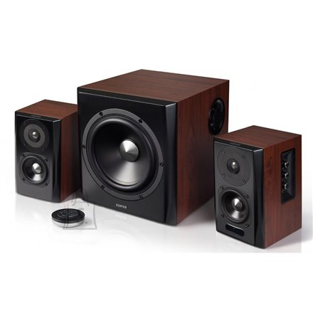 Edifier Edifier S350DB Speaker type 2.1, 3.5mm/Bluetooth/Optical/Coaxial, Bluetooth version 4.0, Brown, 150 W