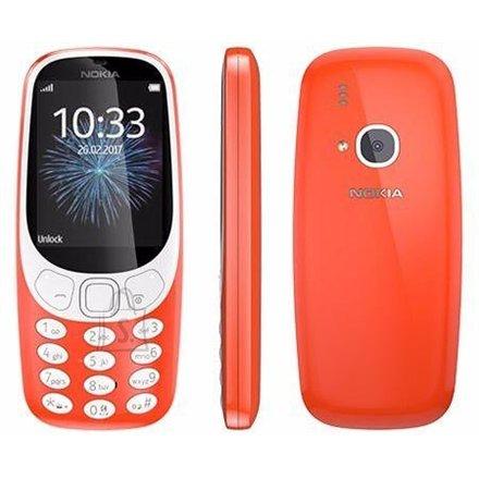 "Nokia 3310 (2017) Red 2.4"" mobiiltelefon"