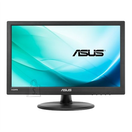 "Asus Asus Touch LCD VT168N 15.6 "", TN, 1366 x 768 pixels, 16:9, 10 ms, 200 cd/m?, Black, D-Sub, DVI-D, 10-point Touch, Flicker free, Low Blue Light"
