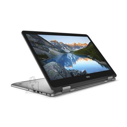 "Dell Dell Inspiron 17 7773 Silver, 17.3 "", IPS, Touchscreen, Full HD, 1920 x 1080 pixels, Gloss, Intel Core i7, i7-8550U, 16 GB, DDR4, SSD 512 GB, NVIDIA GeForce MX150, GDDR5, 2 GB, No optical drive, Windows 10 Home, 802.11ac, Bluetooth version 4.0, Keyboard language English, Keyboard backlit, Warranty 36 month(s), Battery warranty 12 month(s)"