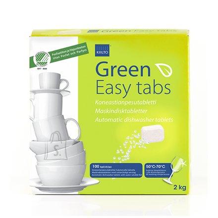 Kiilto Green Easy nõudepesumasina tabletid