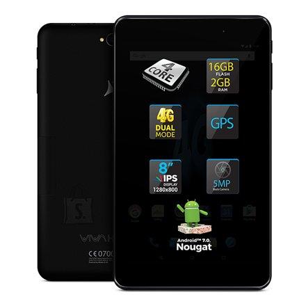 "Allview Viva H802 8.0"" Black tahvelarvuti WiFi 4G"