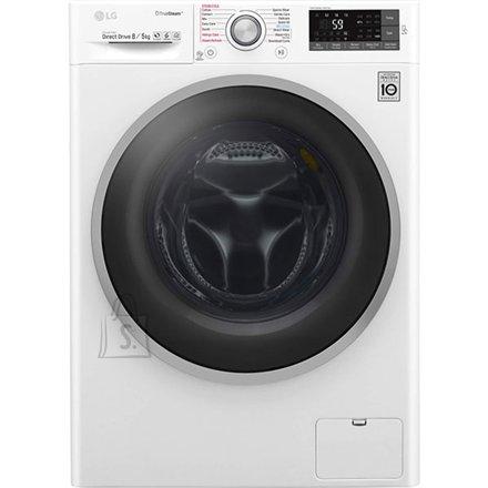 LG eestlaetav kuivatiga pesumasin