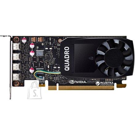 Dell Dell NVIDIA, 4 GB, Quadro P1000, GDDR5, PCI Express 3.0, 4 mDP