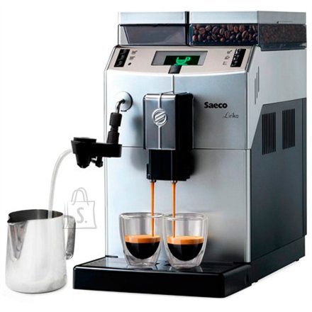 Philips Philips Saeco Lirika Super-automatic Espresso machine RI9840/01 Pump pressure 15 bar, Built-in milk frother, Super-automatic, 1850 W, Silver