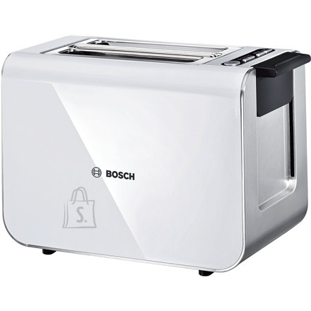 Bosch Bosch Toaster TAT8611 White/ silver, Stainless steel, 860 W, Number of slots 2,