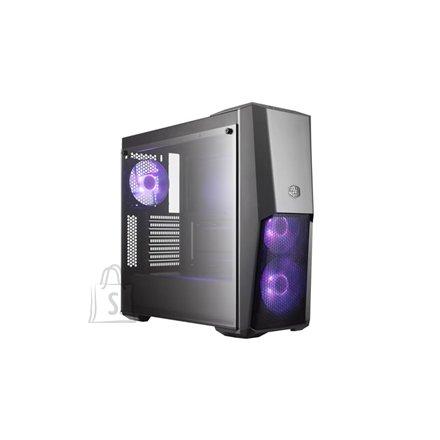 Cooler Master Cooler Master MasterBox MB500 MCB-B500D-KGNN-S00 Side window, USB 3.0 x 2, Mic x1, Spk x1, Black, ATX, Power supply included No