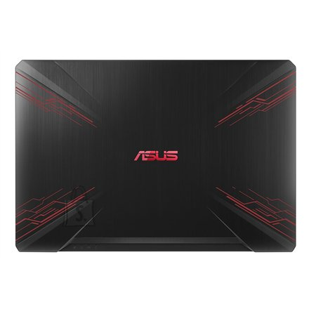 "Asus Asus FX Series (Gaming) FX504GD Black/red, 15.6 "", IPS, FHD, 1920 x 1080 pixels, Matt, Intel Core i5, i5-8300H, 8 GB, DDR4, HDD 1000 GB, 7200 RPM, SSD 128 GB, NVIDIA GeForce 1050, GDDR5, 4 GB, Windows 10 Home, 802.11 ac, Keyboard language English, Keyboard backlit, Battery warranty 12 month(s)"