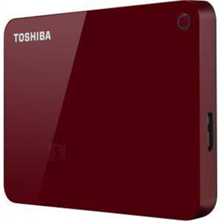 "Toshiba Toshiba Canvio Advance 2000 GB, 2.5 "", USB 3.0, Red"