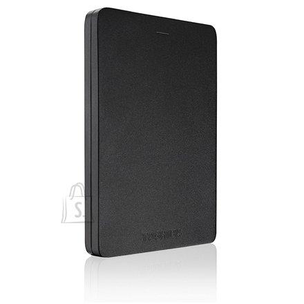 "Toshiba Toshiba Canvio Alu 500 GB, 2.5 "", USB 3.0, Black"