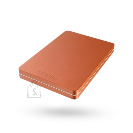 "Toshiba Toshiba Canvio Alu 2000 GB, 2.5 "", USB 3.0, Red"
