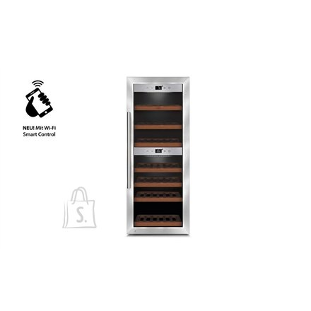Caso Caso Wine cooler  WineComfort 380 Smart  Free standing, Bottles capacity Up to 38 bottles, Cooling type Compressor technology, Silver