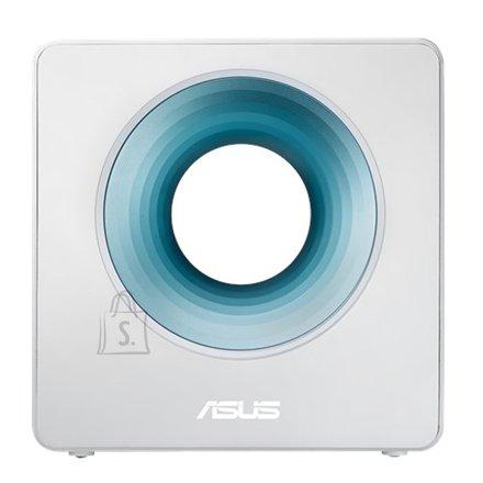 Asus Asus Router Blue Cave 10/100/1000 Mbit/s, Ethernet LAN (RJ-45) ports 4, 2.4GHz/5GHz, Wi-Fi standards 802.11ac,  800+1734 Mbit/s, Antenna type Internal, Antennas quantity 4, USB ports quantity 1