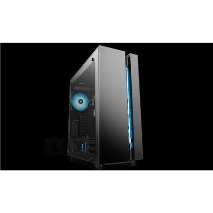 Deepcool Deepcool NEW ARK 90 Side window, Black, E-ATX, Power supply included No
